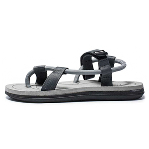 High quality cheap summer outdoor sport men leather sandals