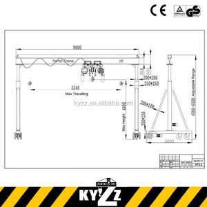 Steel Pipe Wood Stone Gantry Crane For Sale In Dubai Mitsubishi Hydraulic Gantry Lift Gantry Crane