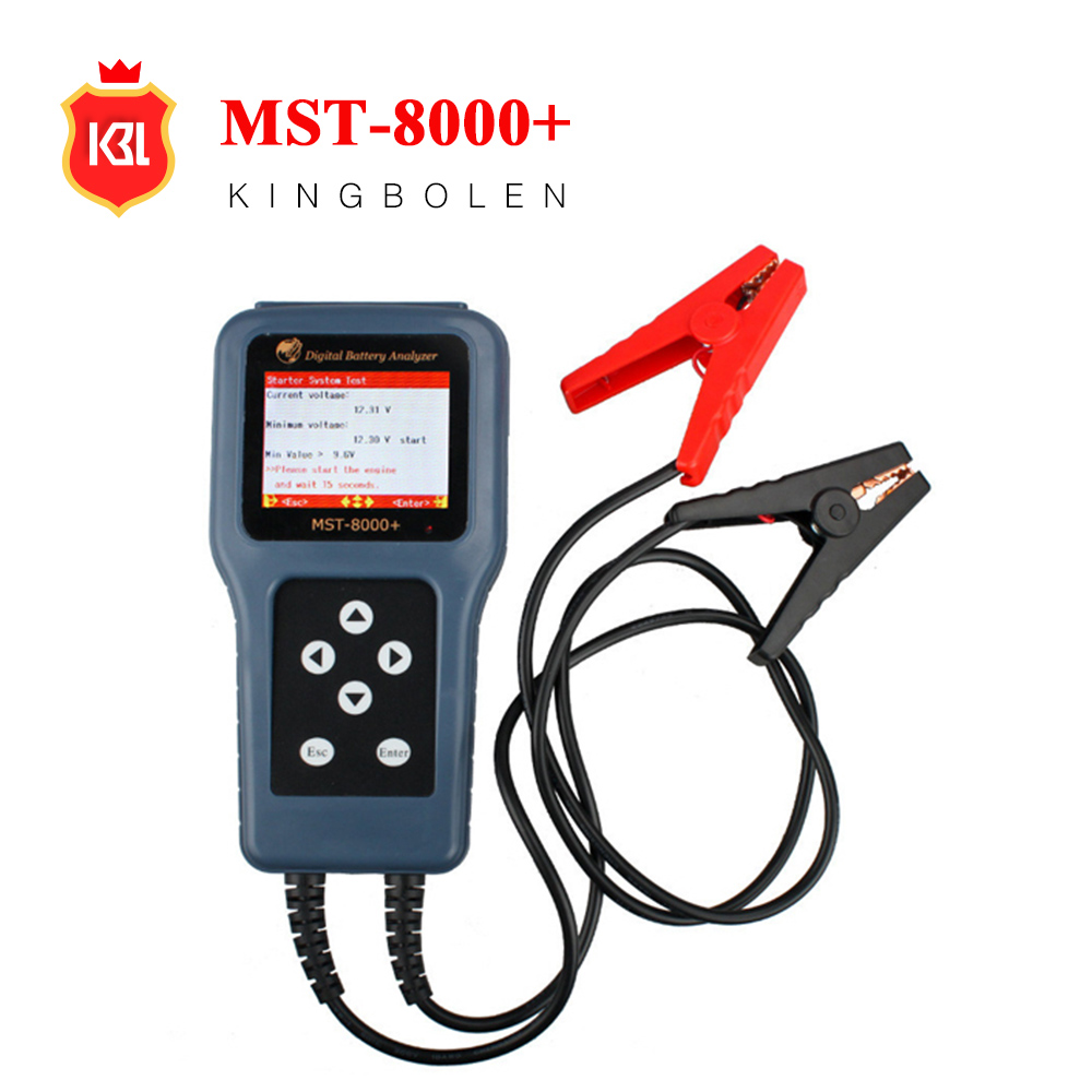 MST-8000+ Digital Battery Analyzer 100% original scanner mst 800+ battery tester
