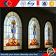 Tiffany stained color glass windows for church with PB bar