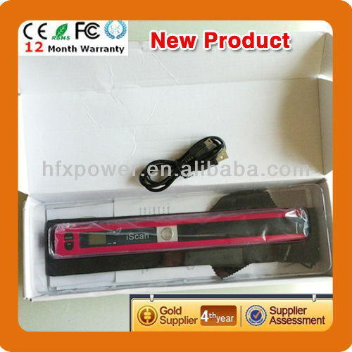 Hot sell portable scanner for 2014