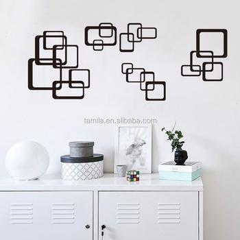 tamila high quality original design waterproof wall sticker abstract