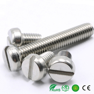 GS SS Slotted Cheese Head Machine Screw DIN84