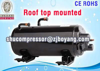 R407c Rotary compressor for heat pump ventilated air battery operated car air conditioner air conditioner cooler camping truck
