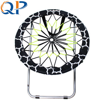 Excellent Spring Moon Chair Round Bungee Black White Elastic Mesh Chair With Opp Bag Buy Kids Moon Round Chair Target Moon Chair Black And White Spring Moon Forskolin Free Trial Chair Design Images Forskolin Free Trialorg