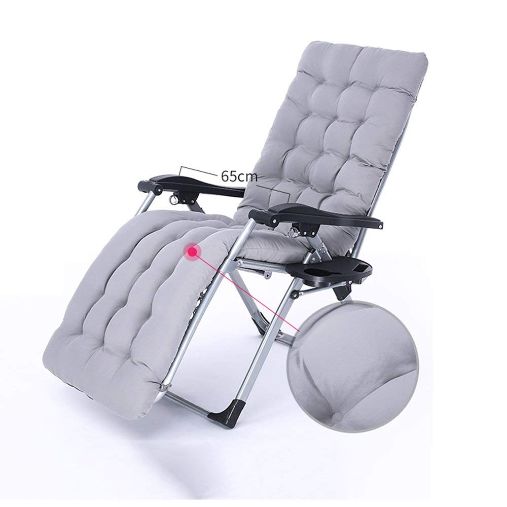 Rocking Chairs MEIDUO Office Lounge Chairs Folding chair Lunch break Portable Siesta bed outdoor balcony lounge chair (Color : C)