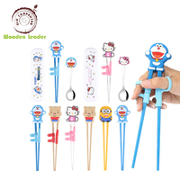 Cartoon Reusable Travel Kids Chopsticks