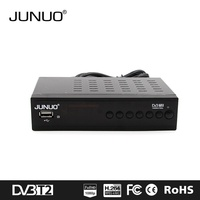 JUNUO STB factory 2016 OEM new quality full hd strong tv tuner Tanzania tv decoder mini set top box dvb t2