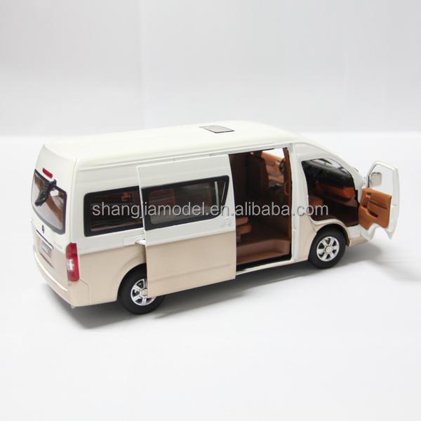 Aliexpress Com Buy Htk18 Tws Mini Invisible Headphones: 1:18 Foton Diecast Passenger Car Model Van Model High