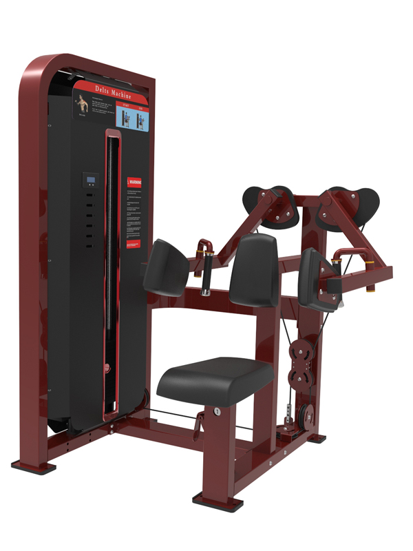 Jinggong Hot Sale Gym Fitness Equipment Commercial Seated Shoulder Lateral Raise Machine