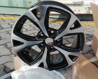 16*6.5 inch factory cheap price chrome/silvery aluminum alloy wheel rim/car rim