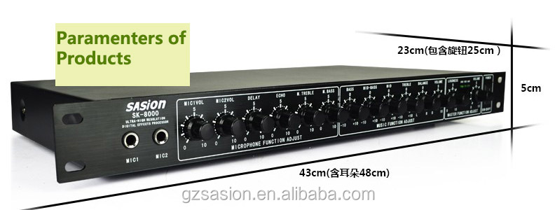 Sasion AJ-8000B hifi home audio stereo dj sound box ahuja power amplifier sound standard