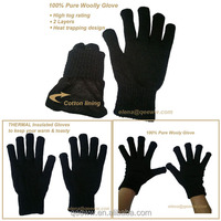 glove manufacturer custom acrylic knitted dress gloves cheap winter magic glove