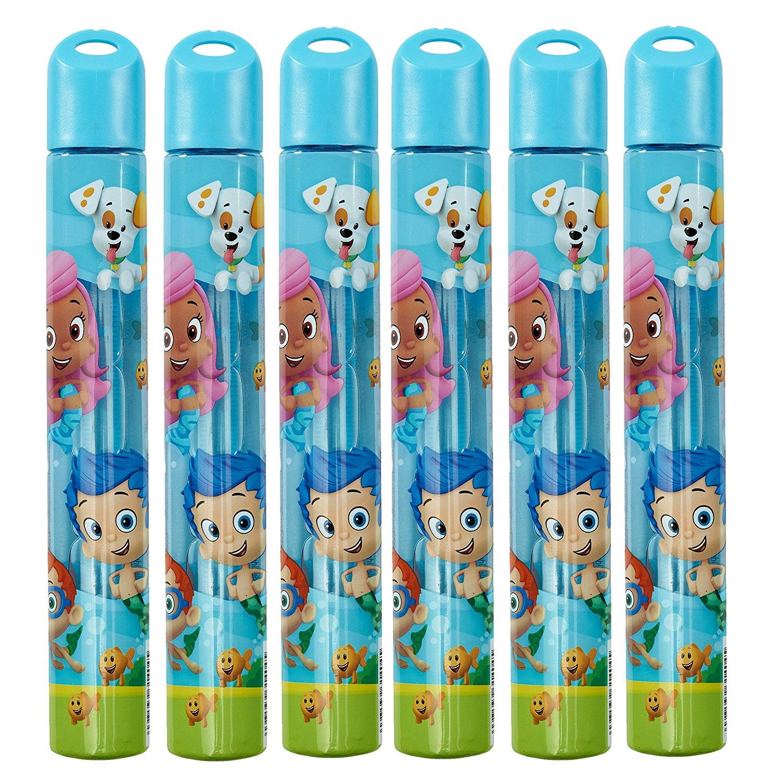 Little Kids Bubble Guppies Wand (6 Pack), 2.3 oz