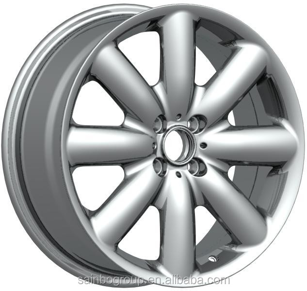 CHROME black 17 19 20 inch car alloy wheels 5x120car rims Z763