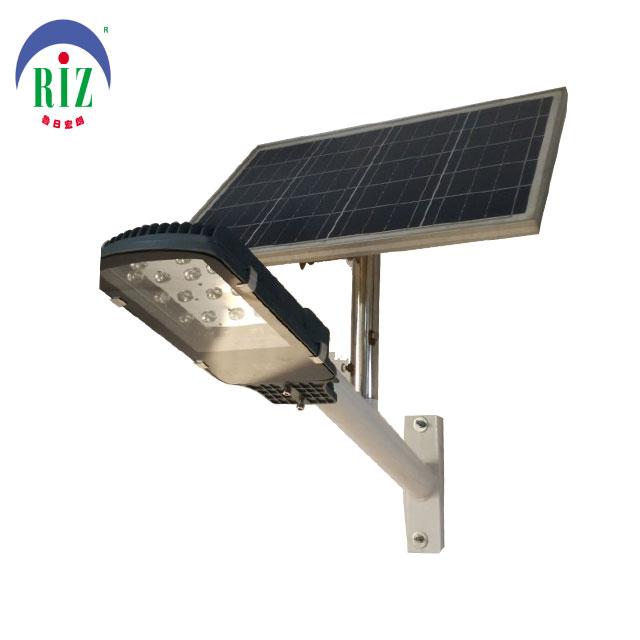 high lumens all in one solar led street light 24W price with most popular designs
