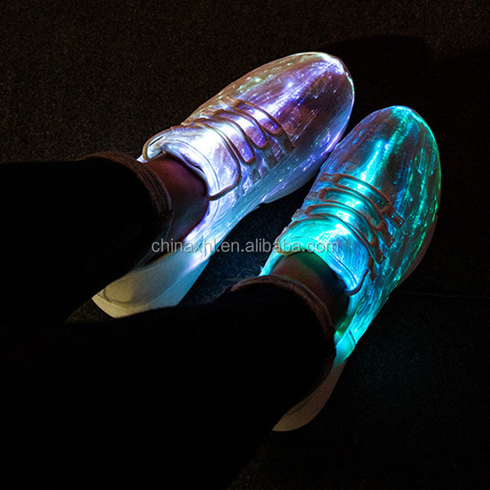 Glow Customize Shoes Safety Customize Safety LED 8wqY5FIwx