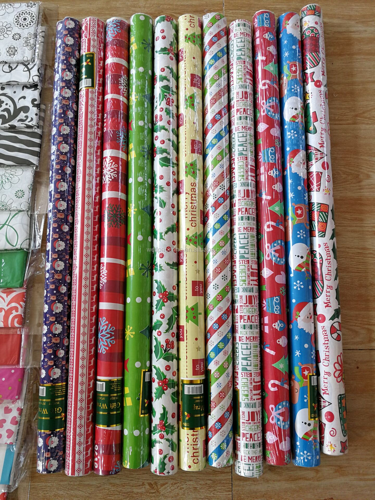 Gift Wrapping Paper & Multi Color Printed Wrapping Paper for Birthdays, Valentines, Christmas