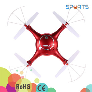 New arrival ! phone control RC drone quadcopter 720p WIFI FPV camera One Key Land 6Axis RC Quadcopter SYMA X5UW drone