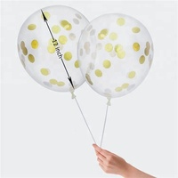 NICRO Hot Sell Fashion Clear Ballons With Confetti