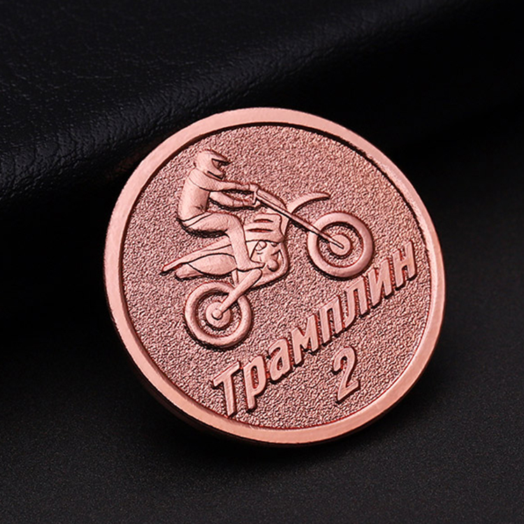 China supplier cheap custom top quality rose gold metal 3D cycling buying lapel pin