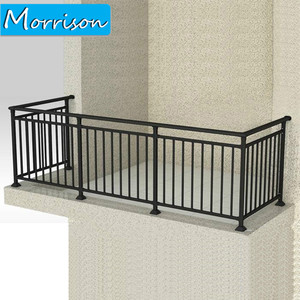 Newest Design Top Quality Simple Iron Grill Design For Balcony