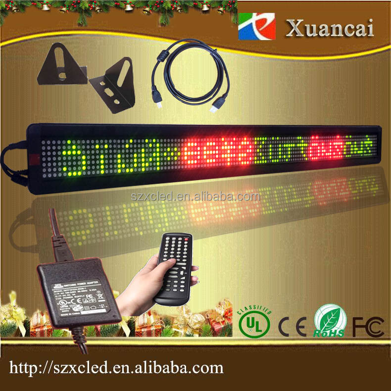 indoor P7.62-7X120RG TCP/IP LED advertising programmable display board