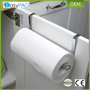 EasyPAG kitchen storage 7.2 ounces 10.2 x 3.5 x 2.5 inches hanging toilet paper roll holder