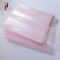 High performance bottom sealed logo plastic pe bags for packaging