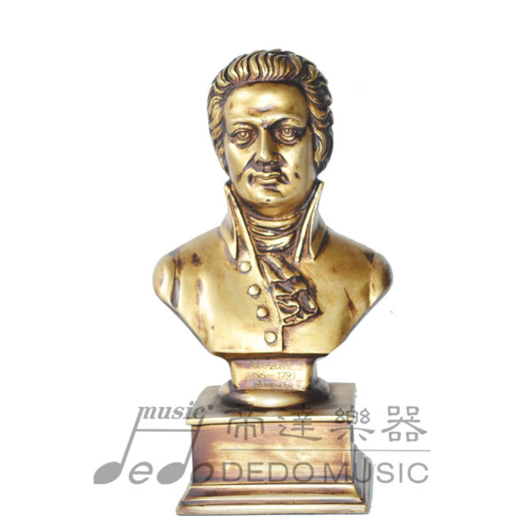 Resin Music Statues Of Mozart