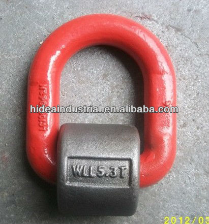 G80 Lifting D Ring with Spring Rigging Hardware for chain