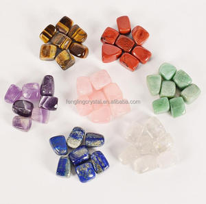 7 Chakra Tumbled plain sets Stone polished Stone in Bulk Wholesale Tumbled