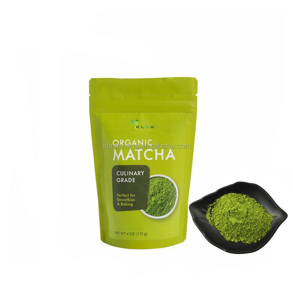 Certified Organic Matcha Green Tea Powder with Competitive Price - 4uTea | 4uTea.com