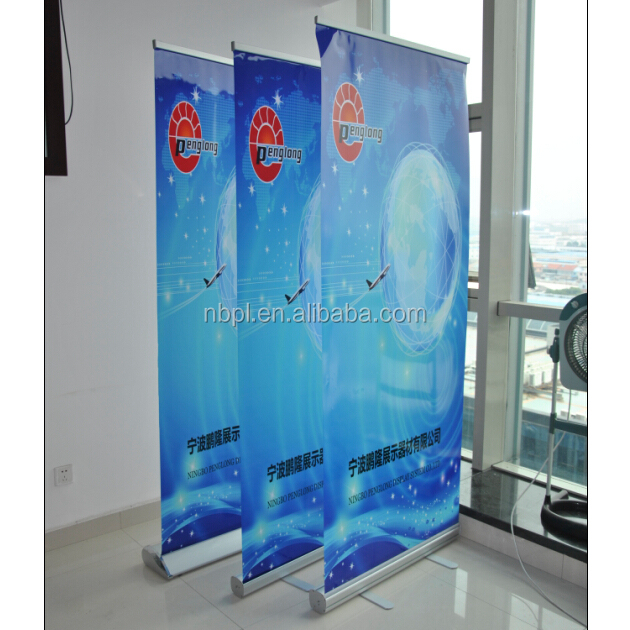 Budget rollup banner stand, cheap roll up poster display banner