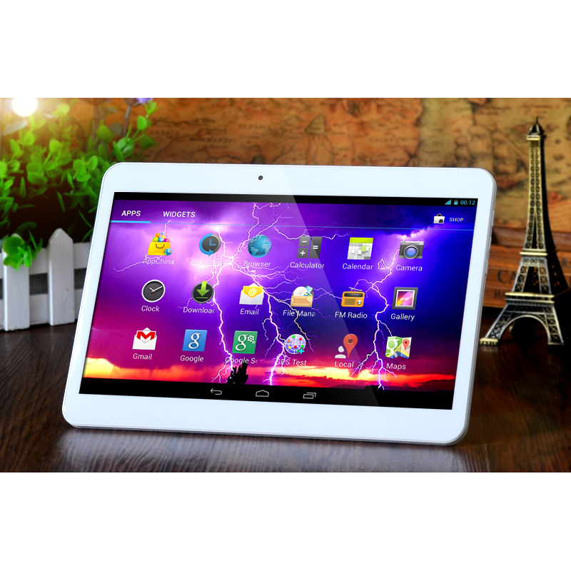 10 inch Wifi Tablet Quad core 1GB RAM 16GB ROM 5MP Cameras 1920x1200 IPS screen
