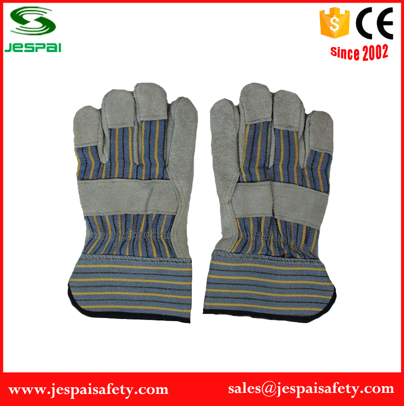 factory hot sale safety heavy duty leather work gloves