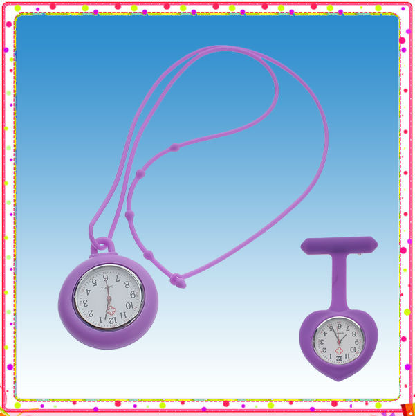 Fancy Silicone Lanyard Watch for Nurse + 12 Colors