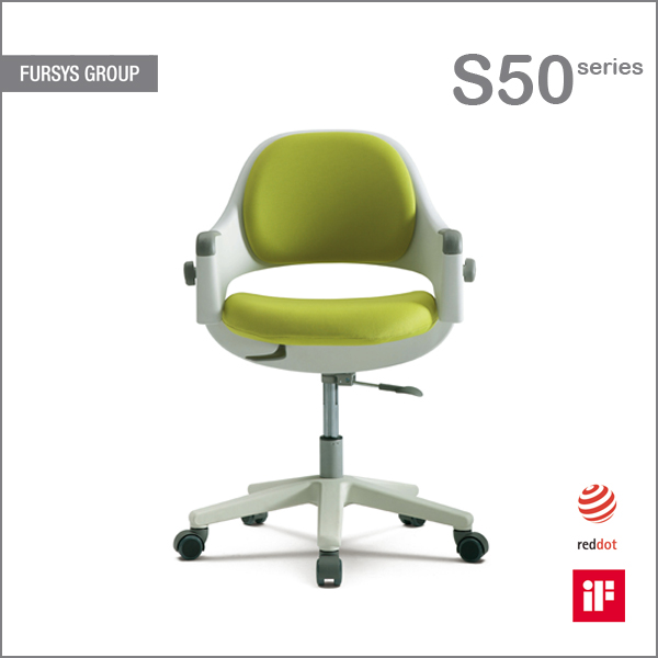 ergonomic kids chair with adjustable back fursys ringo s500acv