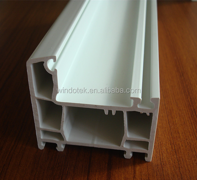 upvc profile window door frame/80 fix frame mullion CH80TL-02 2mm thickness
