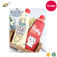 Sedex audit factory creative funny Unique toothpaste shaped pencil case With a pencil sharpener