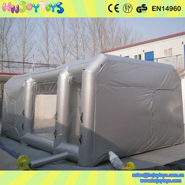 Hot Koop Opblaasbare Spray Paint Booth Tent Meubels