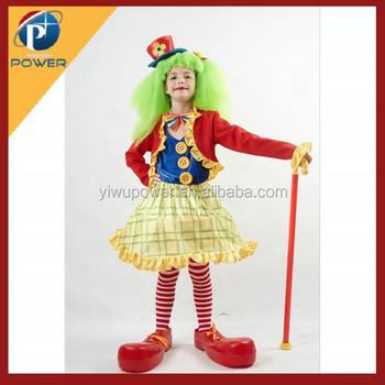 Costume Made Clown Costume Kids Girls Costumes  sc 1 st  Alibaba & Costume Made Clown CostumeKids Girls Costumes - Buy Girls Costumes ...