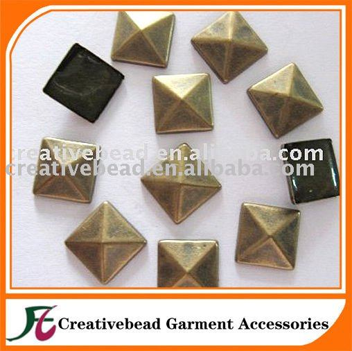 hot fix convex sutds nailhead for clothing