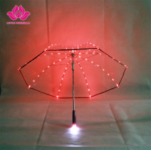 Different design classic good advantages clear christmas led light umbrella