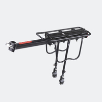 OEM Bicycle Parts Customized Bike Luggage Carrier Aluminum Alloy Bicycle Rear Rack