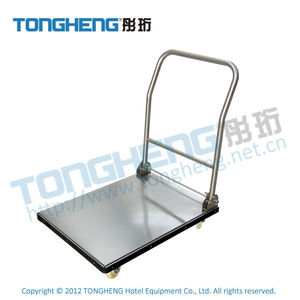 Easy Folding Commercial Stainless Steel Platform Trolley
