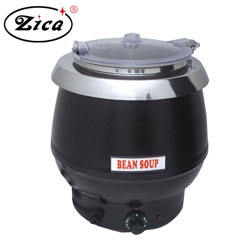 Electric heating soup kettle for restaurant
