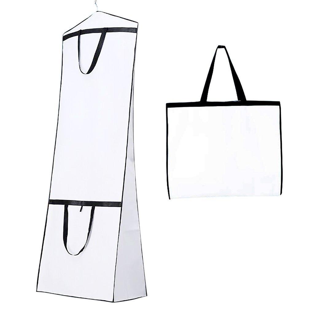 Buy Breathable Wedding Dress Garment Bag Dust Cover Storage Travel