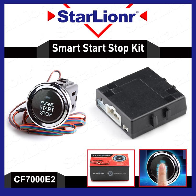 Car Keyless Go Push Button Engine Start Stop System Kit