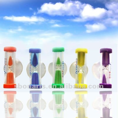 Shower Sand Timer with suction